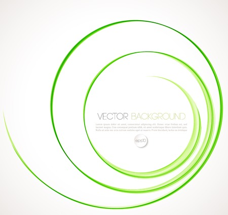 Vector Abstract spiral background. Template brochure design