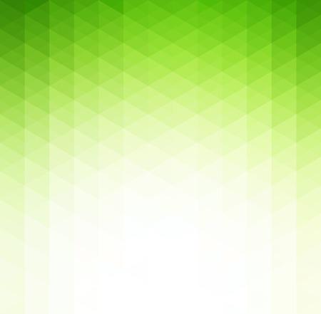 verde: Fondo verde tecnología geométrico abstracto del vector con triángulo