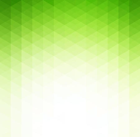 Vector Abstract green  geometric technology background  with triangle