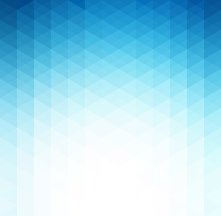 Vector Abstract blue geometric technology background  with triangle