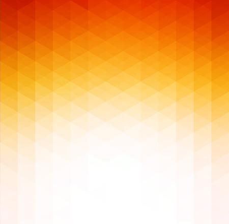 Vector Abstracte oranje geometrische technologie achtergrond met driehoek