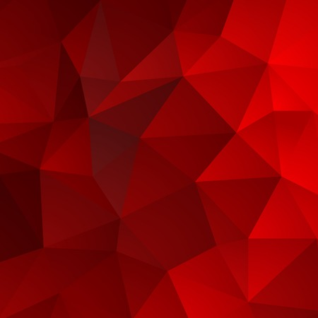 Vector Abstract retro triangle  background red color Illustration