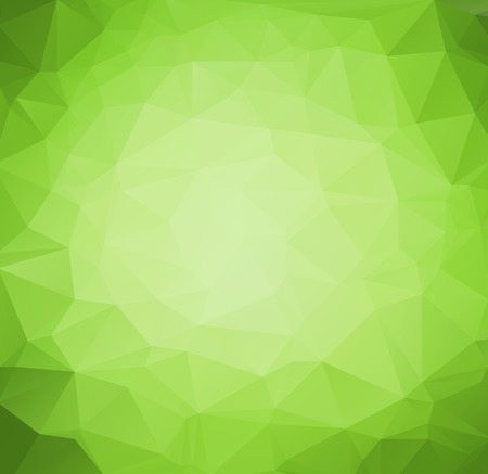 Vector Abstract retro triangle  background green color