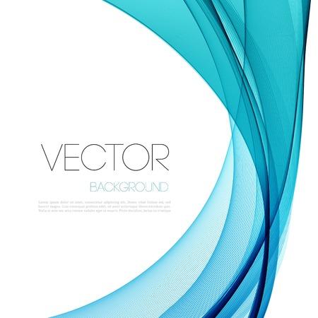 Grafik Abstract geschwungene Linien Hintergrund. Vorlage Broschüre Design Standard-Bild - 36388074
