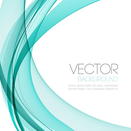 Vector Abstract color lines background. Template leaflet design