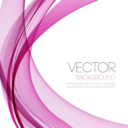 ベクトル抽象的なライン背景。テンプレート リーフレット デザイン  イラスト・ベクター素材