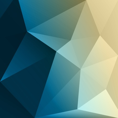 Vector Abstract colorful low poly geometric background. Template brochure design