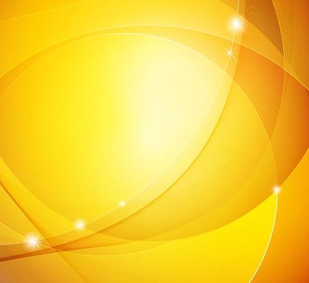 抽象的な光沢のある黄色いベクトル テンプレート背景  イラスト・ベクター素材