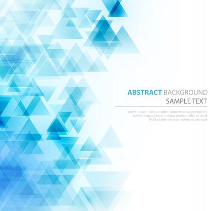 poligonos: Fondo geométrico abstracto con triángulos transparentes. Ilustración del vector. Diseño de brochures Vectores