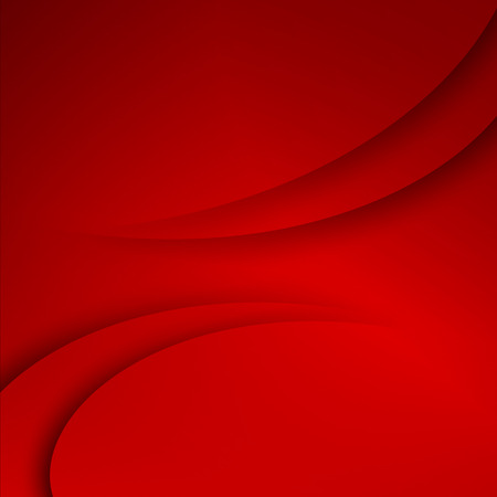 red wave: Red abstract business background.  EPS 10 Vector illustration Illustration