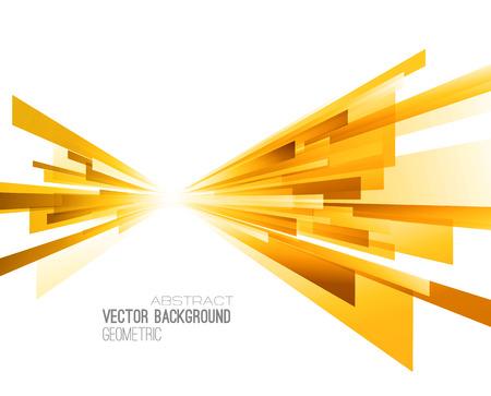 Abstracte geometrische achtergrond met kleur lijnen. Vector illustratie. Brochure ontwerp