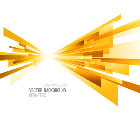 Abstract geometric background with color lines. Vector illustration. Brochure design