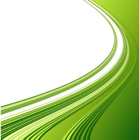 Grafik Abstract rauchigen Wellen Hintergrund. Vorlage Broschüre Design Standard-Bild - 40671090
