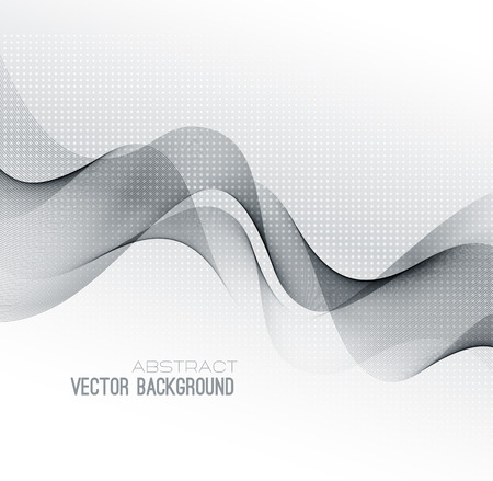 abstrakt gr�n: Abstract green lines background. Illustration