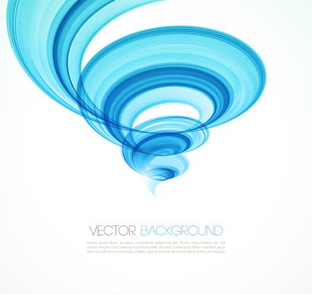 water vortex: Abstract twist waves  background.