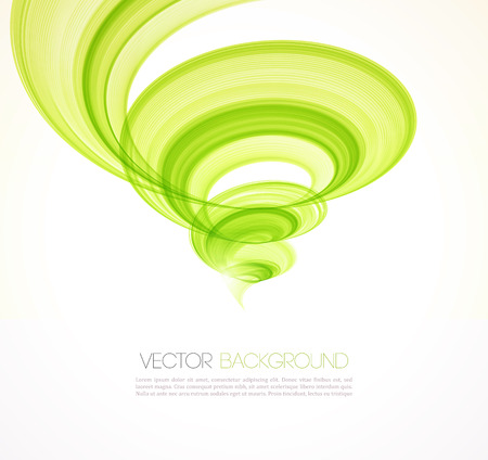 whirlwind: Abstract twist waves  background.  Illustration