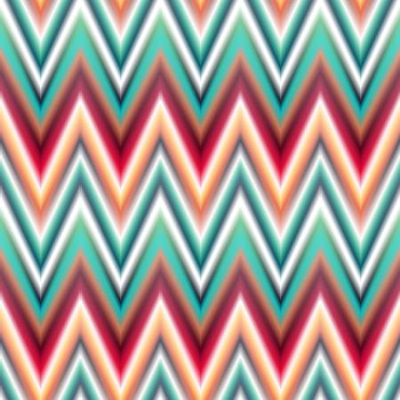 patten: Vector seamless ikat ethnic pattern. Boho design. Colored patten