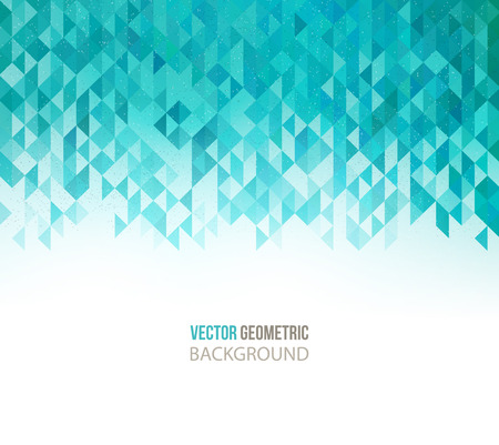 Vector Abstract Geometric Background. Triangular design.  Vettoriali