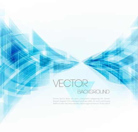 технология: Вектор абстрактный геометрический фон. Треугольная конструкция.