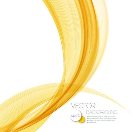 Vettore Abstract Orange curve linee di fondo. Design brochure modello. Archivio Fotografico - 42662488