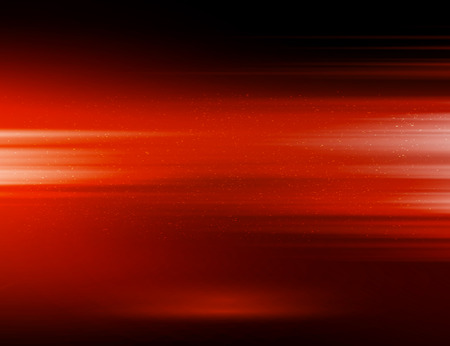 Vector abstract horizontal energy design red color on dark background