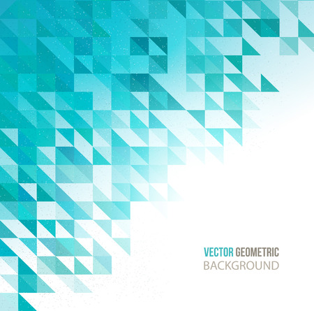 abstract business: Vector Abstract Geometric Background. Triangular design.