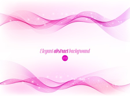 Abstract shiny wavy background. Elegant Vector design Illustration