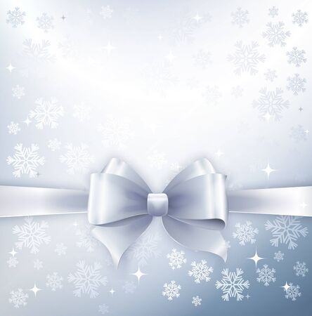 december background: Silver winter abstract background. Illustration