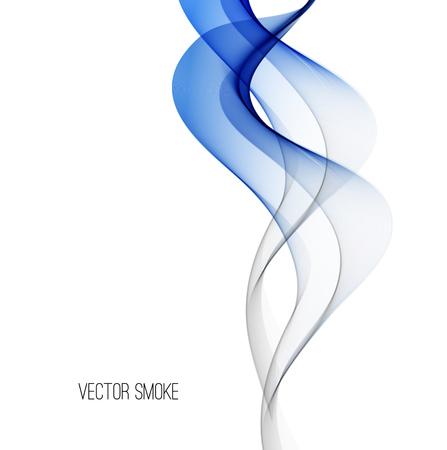abstract smoke: Vector Smoke Abstract template background.