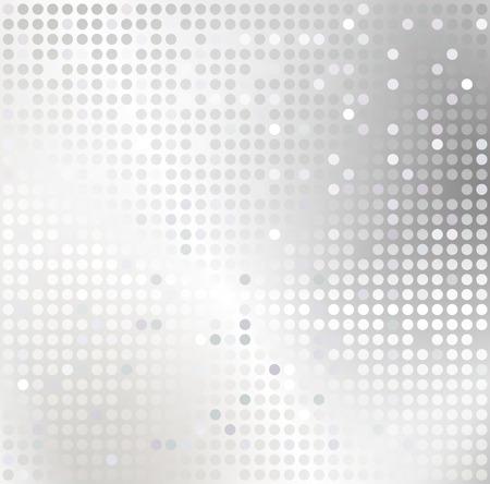 Shiny Hintergrund mit silbernen Pailletten. Illustration