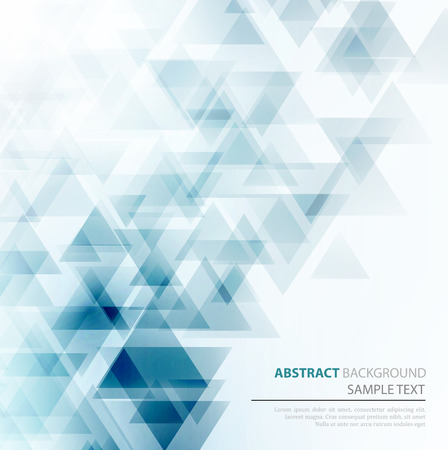 blue and white: Vector Abstract Geometric Background. Triangular design. EPS 10