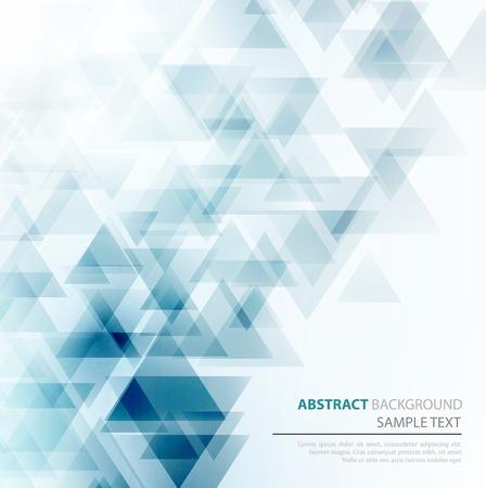 azul: Vector Resumen Antecedentes geométrica. Diseño triangular. EPS 10