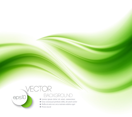 organic background: Beautiful Green Satin. Drapery Background, Vector Illustration