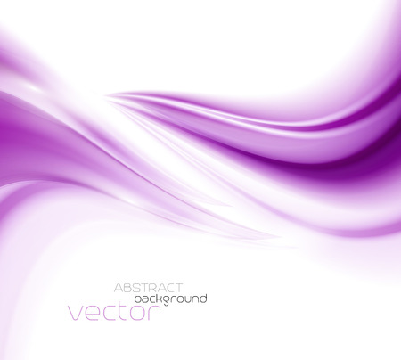 Beautiful Purple Satin. Drapery Background, Vector Illustration
