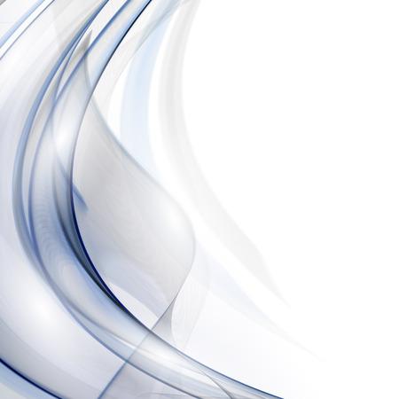 Vector Rook. Abstracte sjabloon Fractal achtergrond. Stock Illustratie