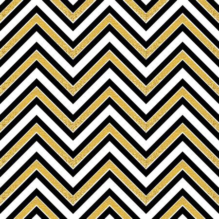 Pattern in zigzag. Classic chevron seamless pattern. Vector design Ilustrace