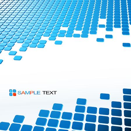 Vector Zusammenfassung geometrischen Hintergrund. Vorlage Broschüre Design