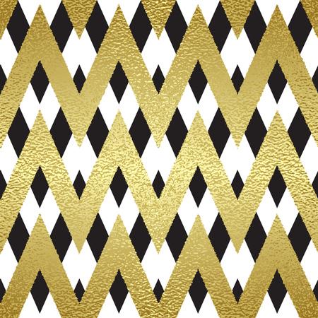 Patroon in zigzag. Klassieke chevron naadloos patroon. Vector design