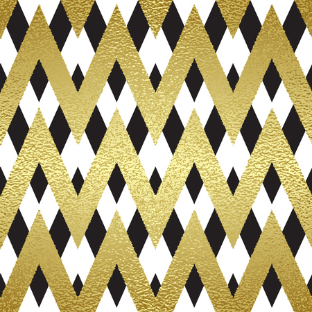 Pattern in zigzag. Classic chevron seamless pattern. Vector design Illustration