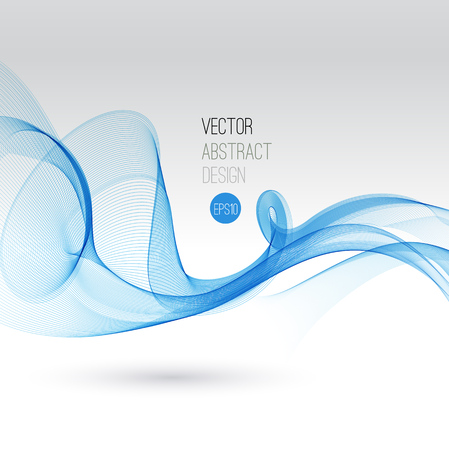 blue satin: Beautiful Blue Satin. Drapery Background, Vector Illustration