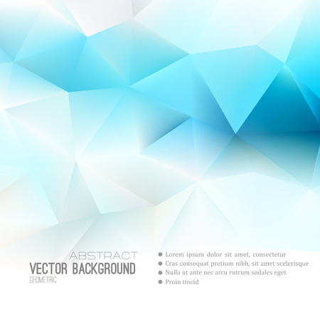 science background: Vector Abstract science Background. Polygonal geometric design. EPS 10