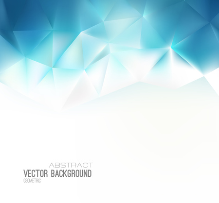 medical science: Vector Abstract science Background. Polygonal geometric design. EPS 10