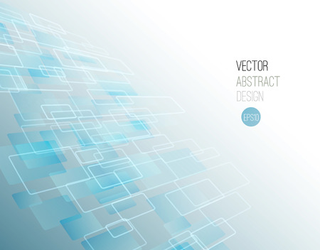 Vector Abstract science Background. Geometric design. EPS 10
