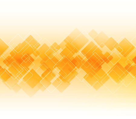 orange color: Vector Abstract science Background. Geometric design. EPS 10