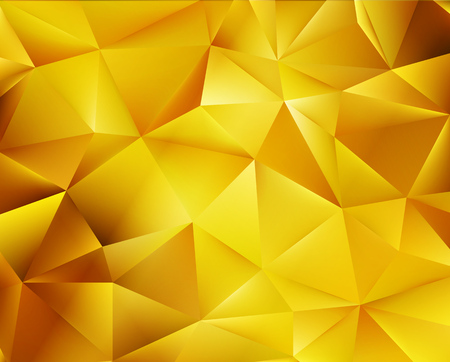 mosaic background: Abstract color mosaic background. Gold vector background Illustration
