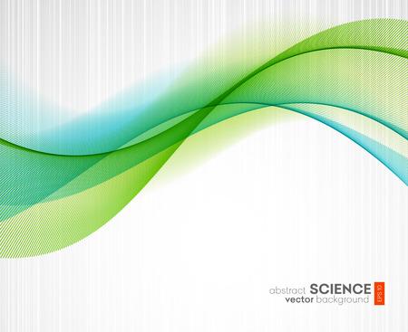 Abstract vector achtergrond, futuristisch golvend illustratie eps10