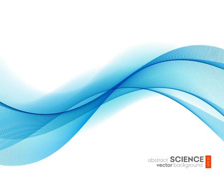Abstract Vector Hintergrund, futuristisch gewellten Abbildung eps10