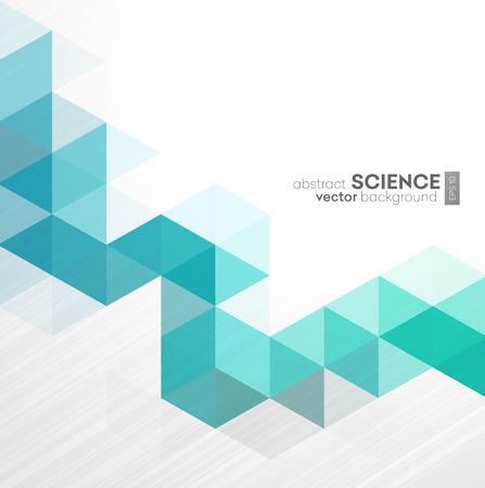 Vector Abstract background géométrique avec des triangles - Pour les entreprises, la conception de l'entreprise, la couverture, livret, brochure. Vecteurs