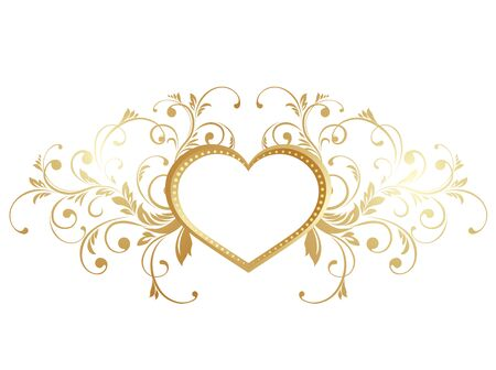 Saint Valentin cartes de v?ux. illustration avec valentines coeur