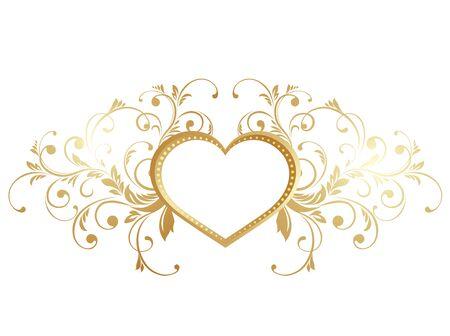Valentinstag-Grußkarten. Illustration mit Valentines Herzen